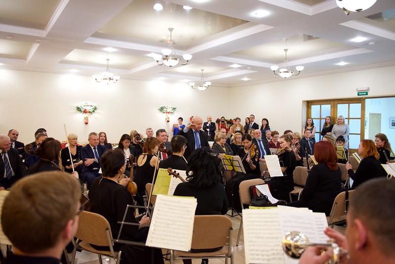 Рождественская встреча дипломатов в Представительстве МИД России в Калининграде