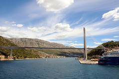 Dubrovnik Most Franje Tuđmana (Franje Tuđmana Bridge)