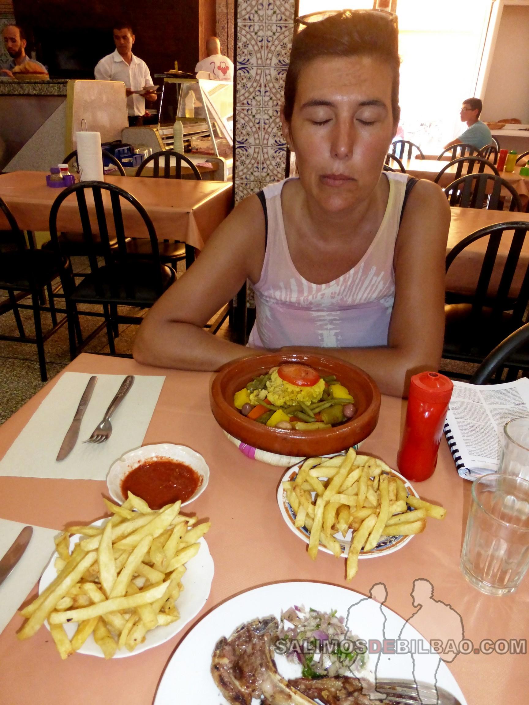 689. Saioa, Tagine de verduras, Marrakech