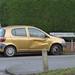 Wheelers Lane, Kings Heath - golden car on Birdwell Croft