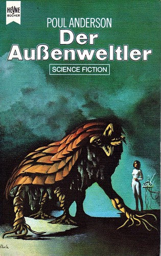 """Karel Thole - Cover for """"The Byworlder"""" by Poul Anderson, 1971"""