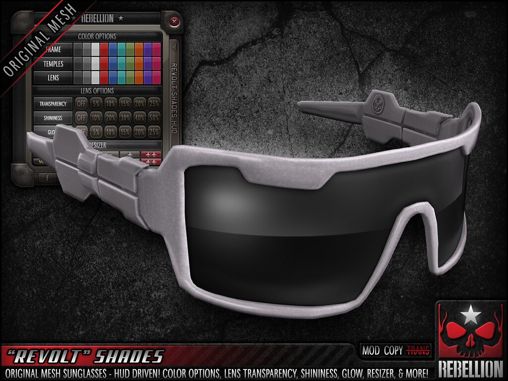 "= REBELLION = ""REVOLT"" SHADES"