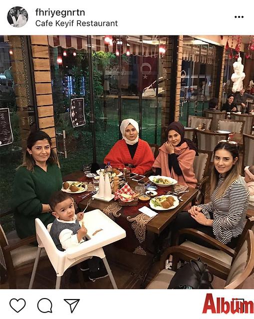 Fahriye Günerten, arkadaşlarıyla birlikte Keyif Kafe'deydi.
