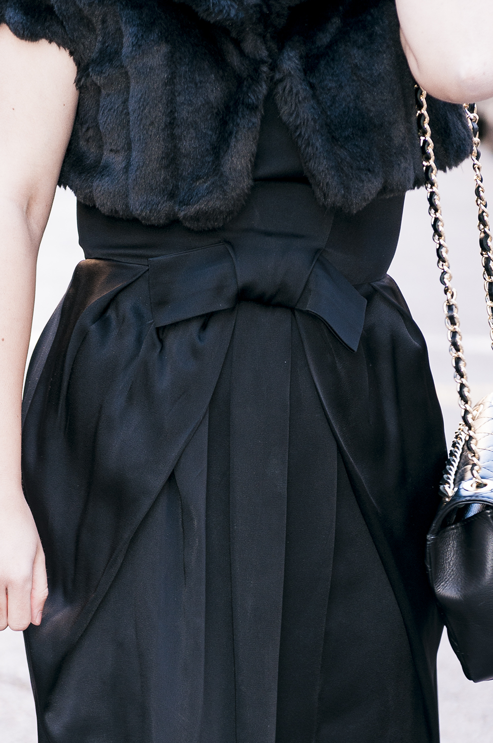 something fashion blogger valencia spain influencer firenze Dior LBD vintage dress _0355