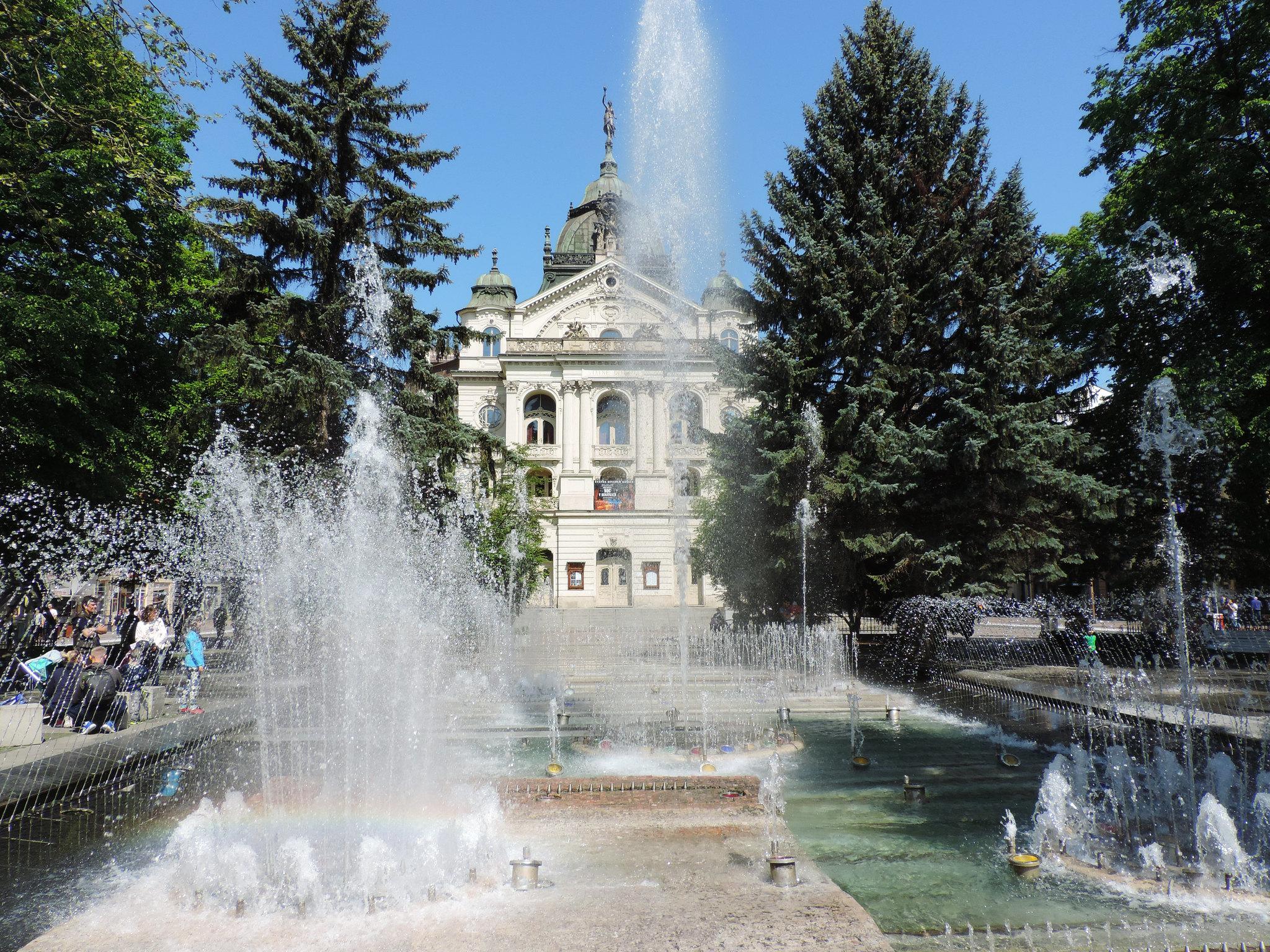 The Singing Fountain, Košice, Slovakia