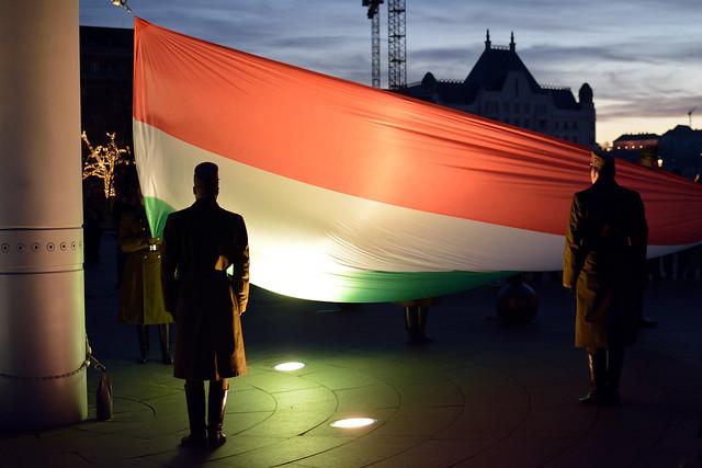 Zászlolevonás