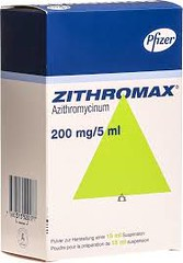ZITHROMAX 200MG/5ML SUSPENSI 15ML