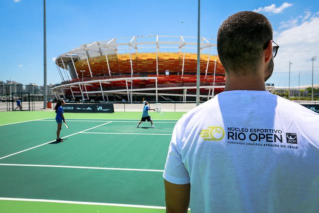 Lançamento do Núcleo Esportivo Rio Open - Parque Olímpico da Barra