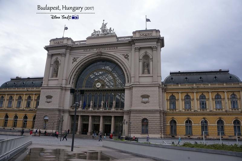 2017 Europe Budapest Keleti railway station