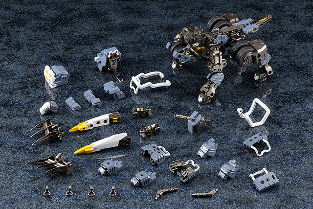 全部拆光光!壽屋《HEXA GEAR》1/24 KIT BLOCK 「Demolition Brute」デモリッション・ブルート