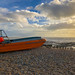 Goring seafront UK (boat and beach)