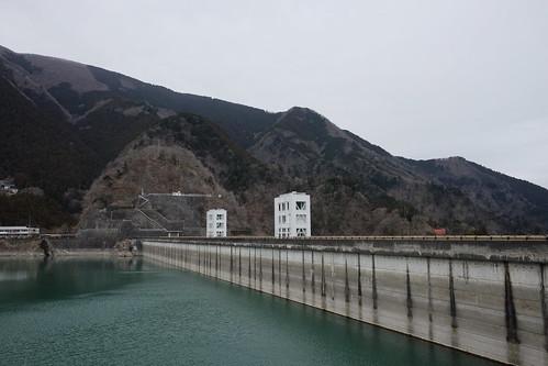 Lake Okutama Ogouchi dam reservoir 09