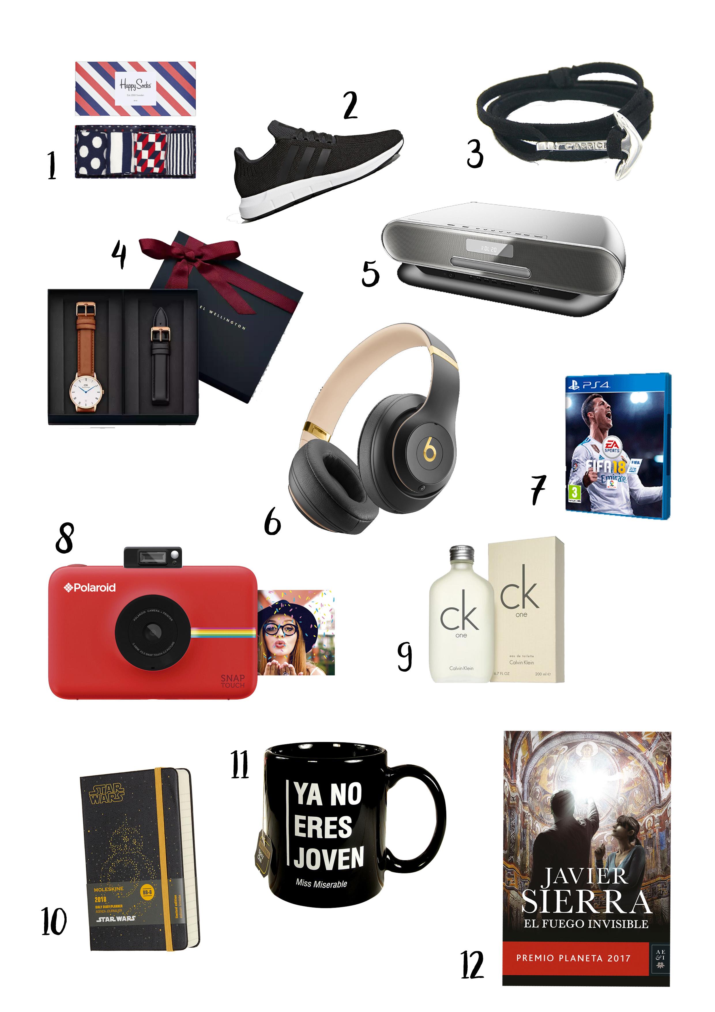 12 Ideas para regalar estas Navidades