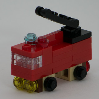 "Christmas Build-Up 2017 Day 19 MOC ""Fire Truck"""