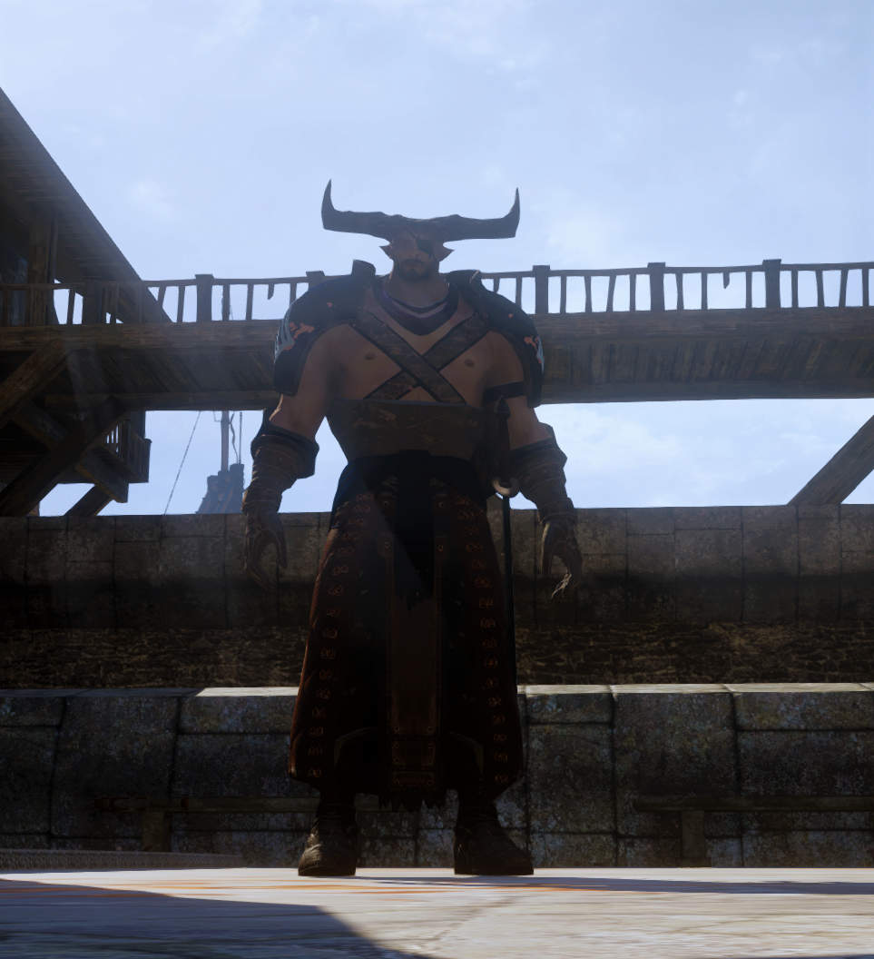 Chapter 33 Iron Bull in new armor