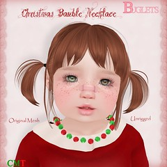 Christmas Bauble Necklace AD