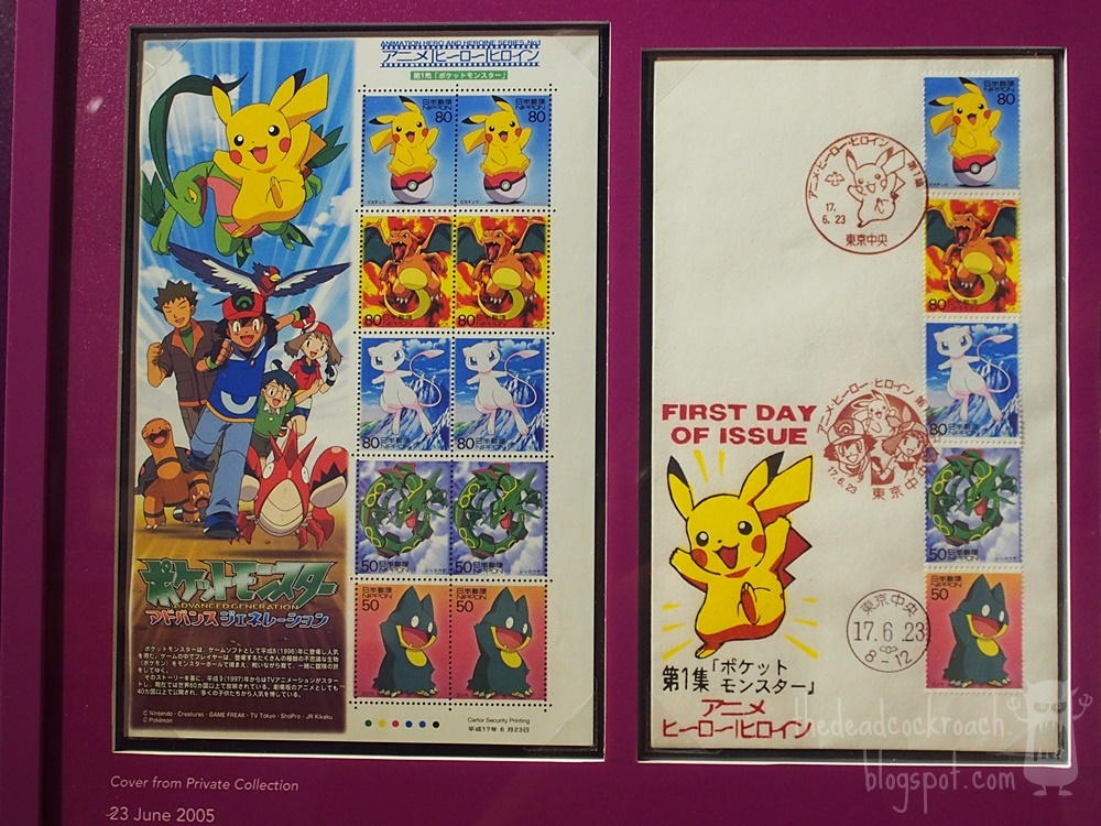 anime, astro boy, chibi maruko-chan, conan, detective conan, doraemon, museum, naruto, philatelic museum, rantarou, singapore, singapore philatelic museum, stamps, studio ghibli, where to go in singapore, japan, japanese animation, stamps,pokemon