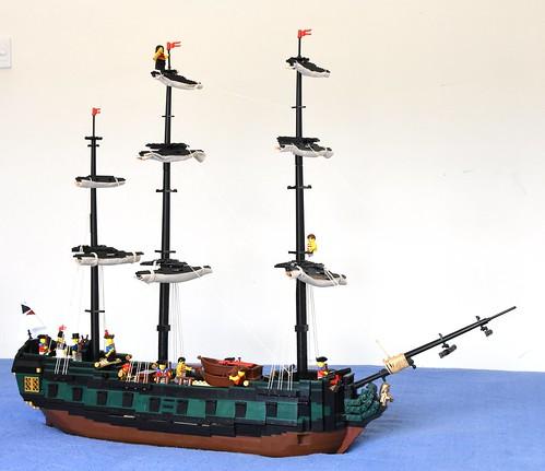 HMS Royal Oak - 6th Rate