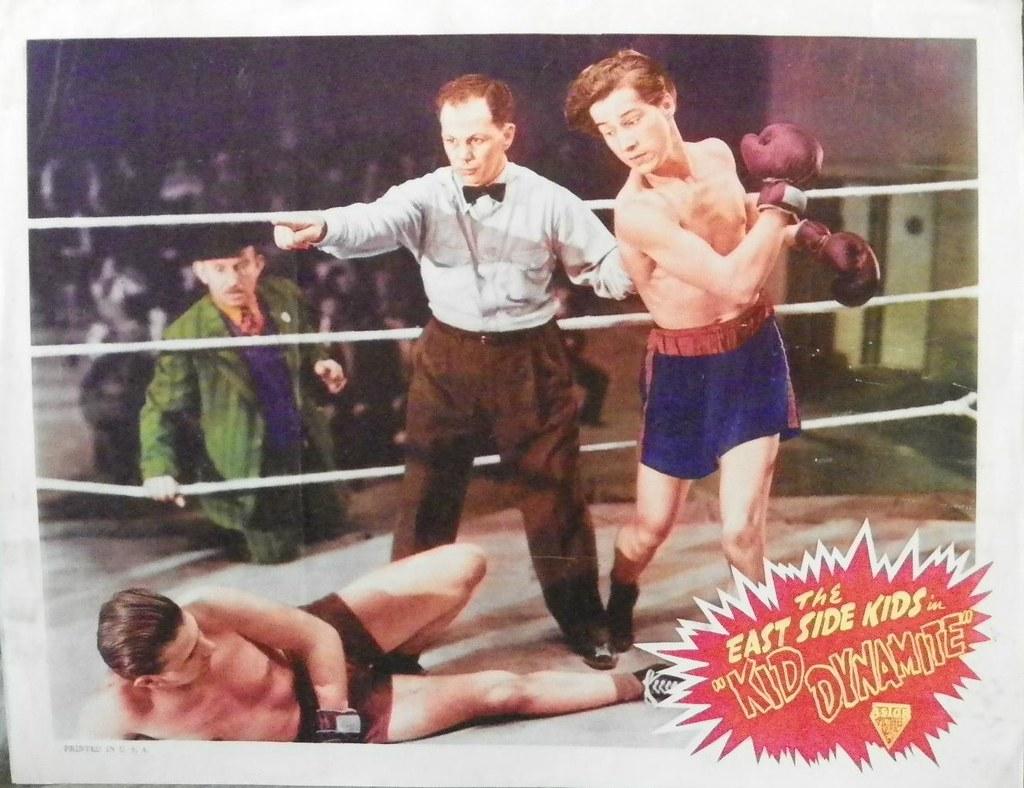 Kid Dynamite 1943 Lobby Card