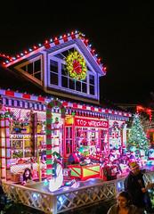Christmas Lights on Balboa Island