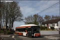 Irisbus Agora S GNV - Setram (Société d'Économie Mixte des TRansports en commun de l'Agglomération Mancelle) n°672