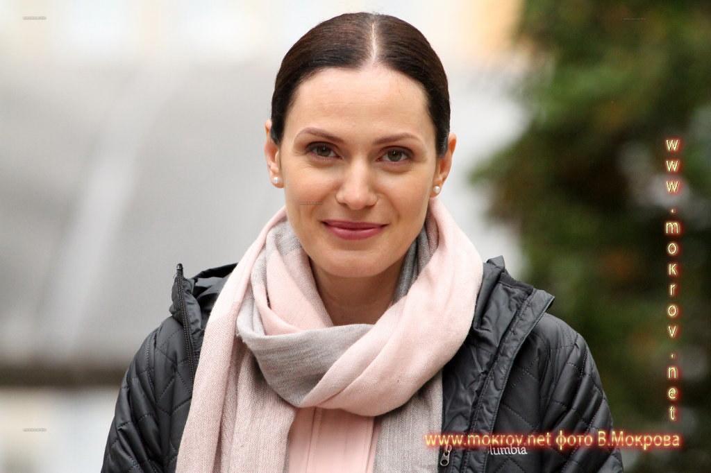Тара Амирханова На съемках Телесериала «Морозова»