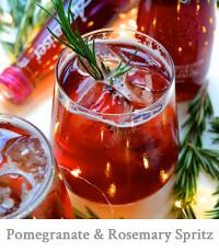 Pomegranate & Rosemary Spritz