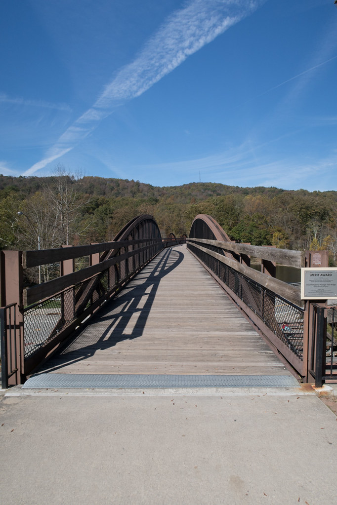 Pedestrian Overpass at Ohiopyle State Park