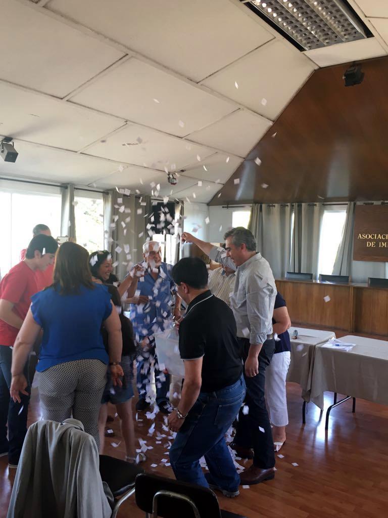 Comisión C.A.S.A – AFIICH realizó su tradicional Rifa - 14 diciembre 2017