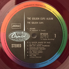 THE GOLDEN CUPS:THE GOLDEN CUPS ALBUM(LABEL SIDE-A)