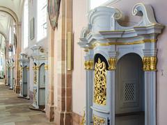 Confessionnaux particuliers de l'Abbaye d'Ebersmunster