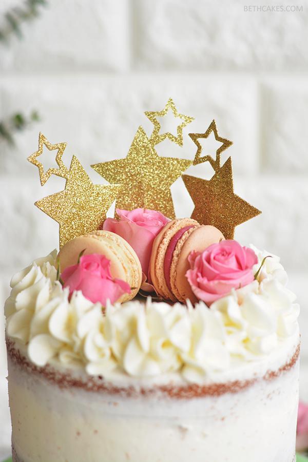 Pink Champagne Cake - bethcakes.com