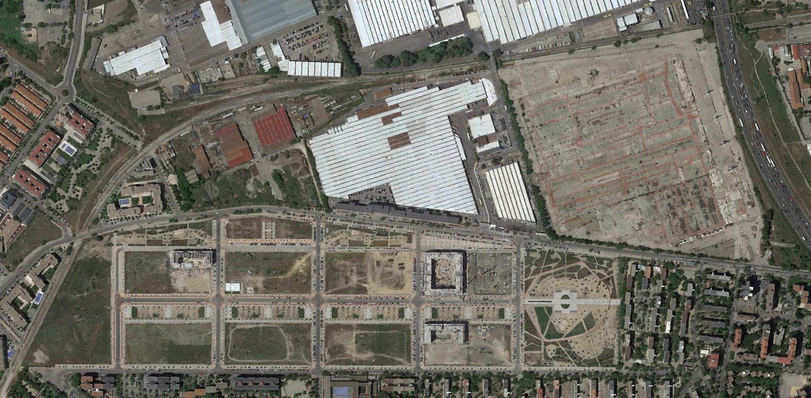 ciudad de los ángeles, madrid, lololond, después, urbanismo, planeamiento, urbano, desastre, urbanístico, construcción, rotondas, carretera