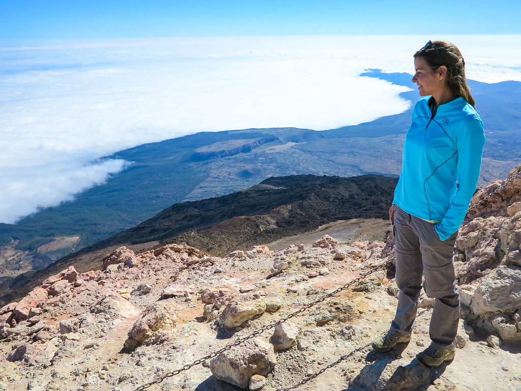 Top of mount Teide
