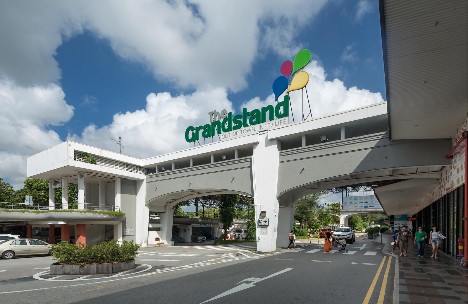 Grandstand Facade