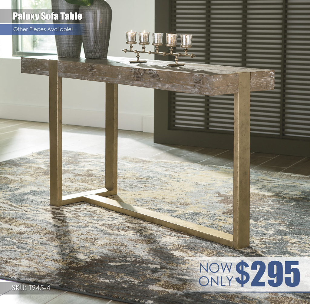 Paluxy Sofa Table T945-4
