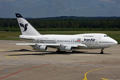 Iran Air  Boeing 747SP-86 EP-IAD