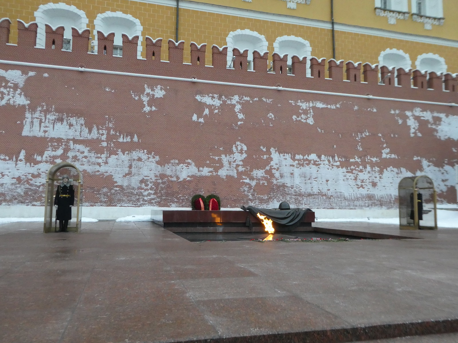 The tomb of the unknown soldier, Moscow
