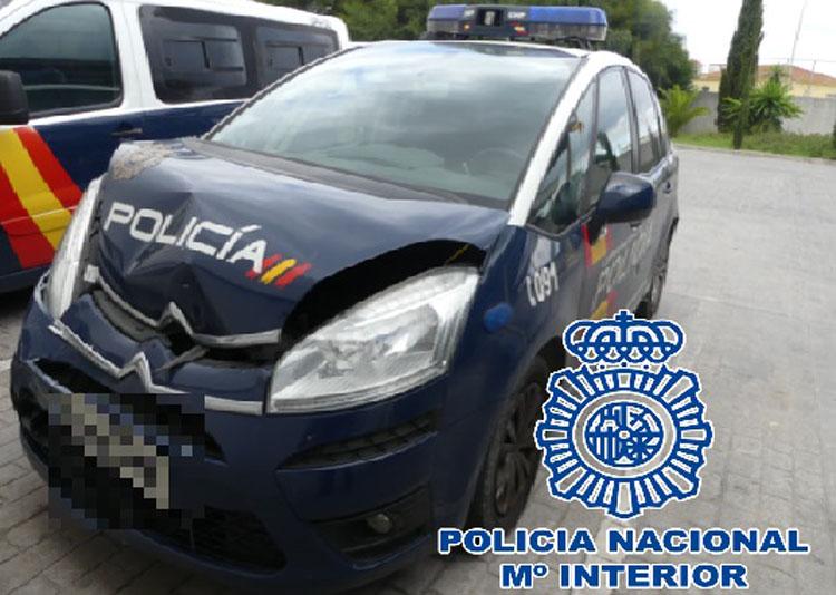 2017-12-18 Algeciras Detenido Sustracción furgoneta 21