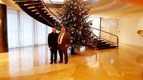 Visita del Embajador de México en Suiza al Director General del Banco de Pagos Internacionales (BPI)