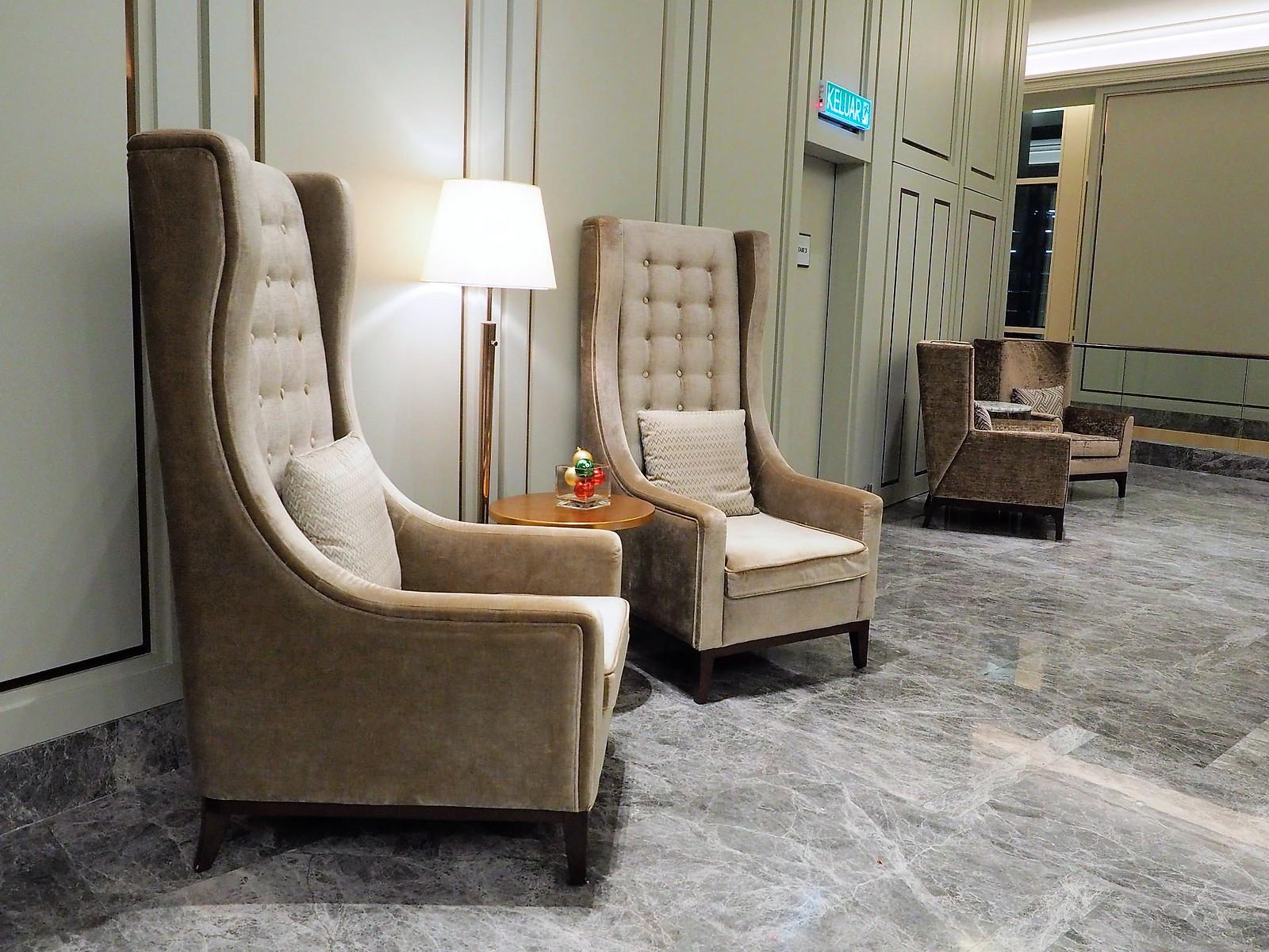 Nice sofas Sheraton Petaling Jaya Hotel