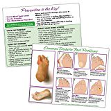 #healthyliving Nasco WA25981 Common Diabetic Foot Problems TearPad, 11″ x 8-1/2″ Size