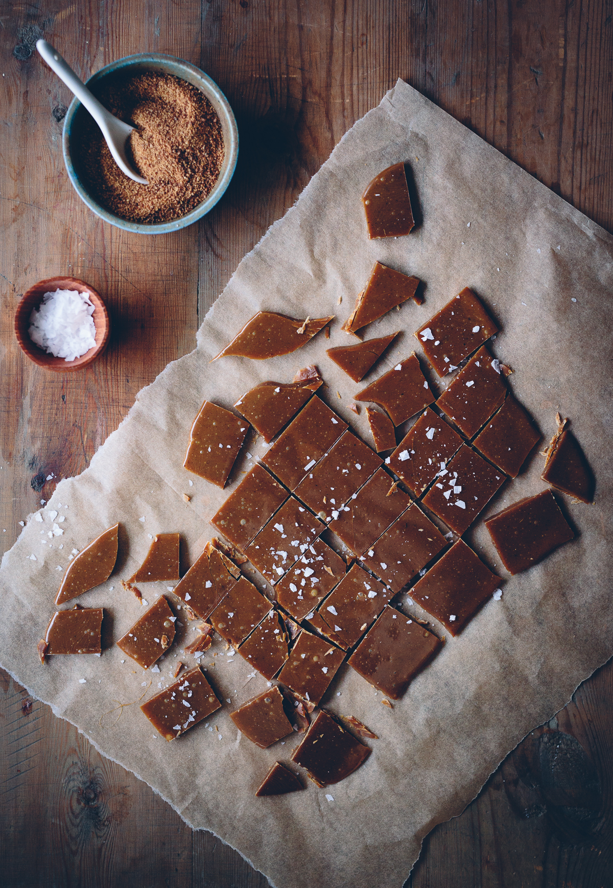 Vegan Gingerbread Caramels | Cashew Kitchen