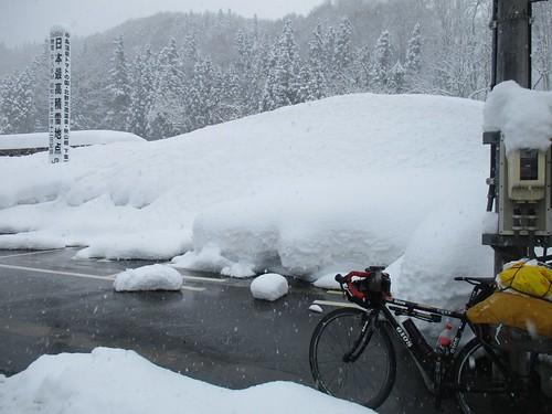 雪がいっっぱい