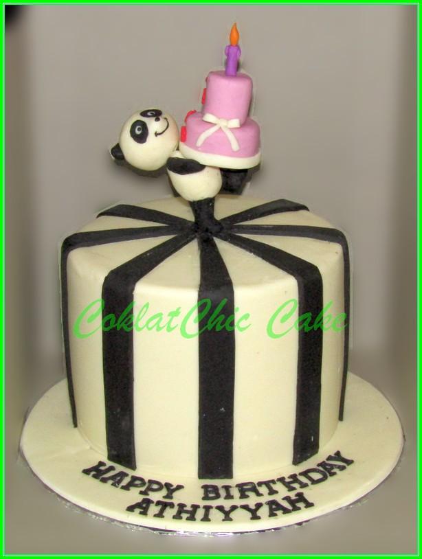 Cake Panda ATHIYYAH 12cm double