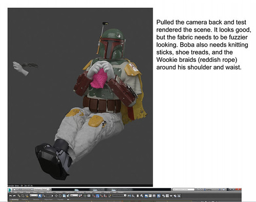 The process of creating Boba Fett, by digital artist Kyle Hagey. Click to read our interview!