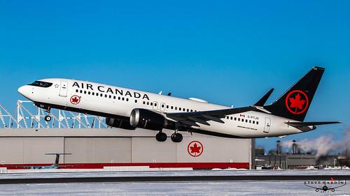 Air Canada C-FTJV Boeing 737 MAX 8 IMG_1693
