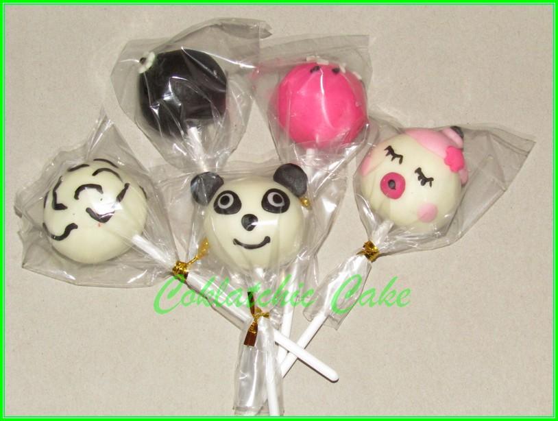 Cakepops Panda