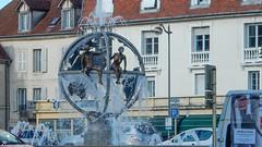 la fontaine place Jules Grevy