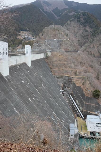 Lake Okutama Ogouchi dam reservoir 08